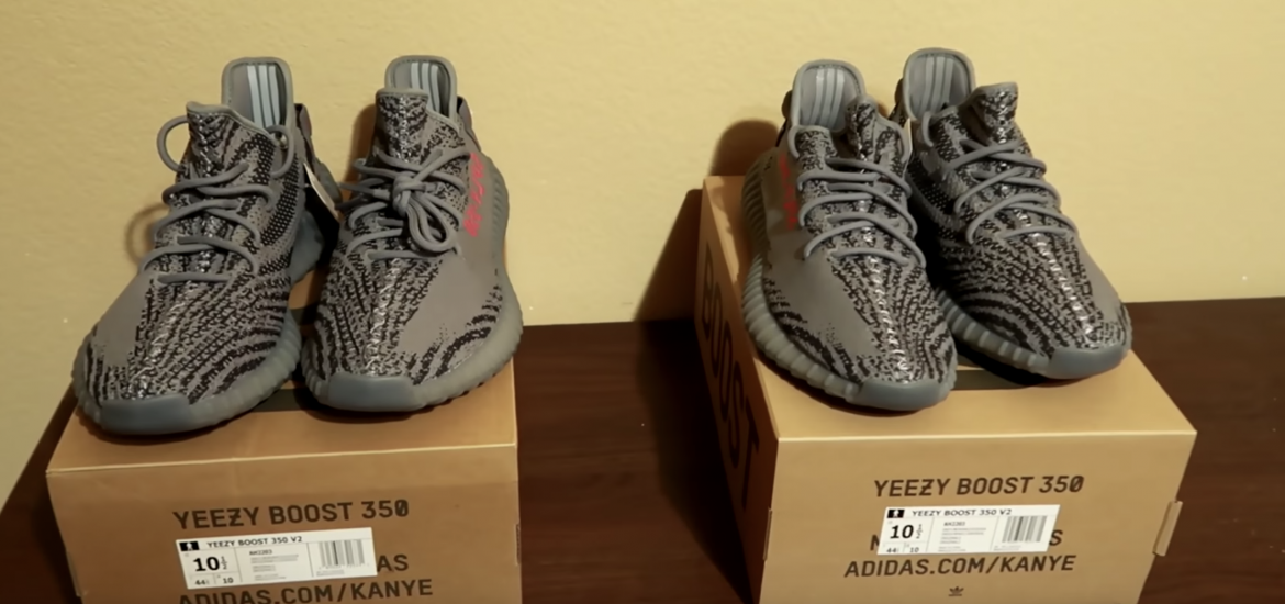 real vs fake yeezy boost 350 reviews